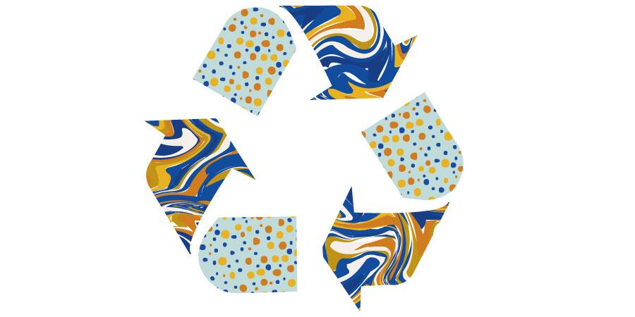 Laboratorio riciclaggio plastica e usa e getta